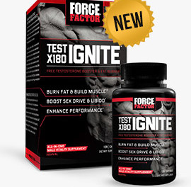 Force Factor Test X180 Ignite