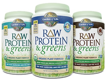 Garden of life raw protein and greens review supplement - Garden of life raw meal weight loss results ...